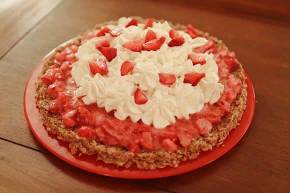 Tarte aux fraises revisitée